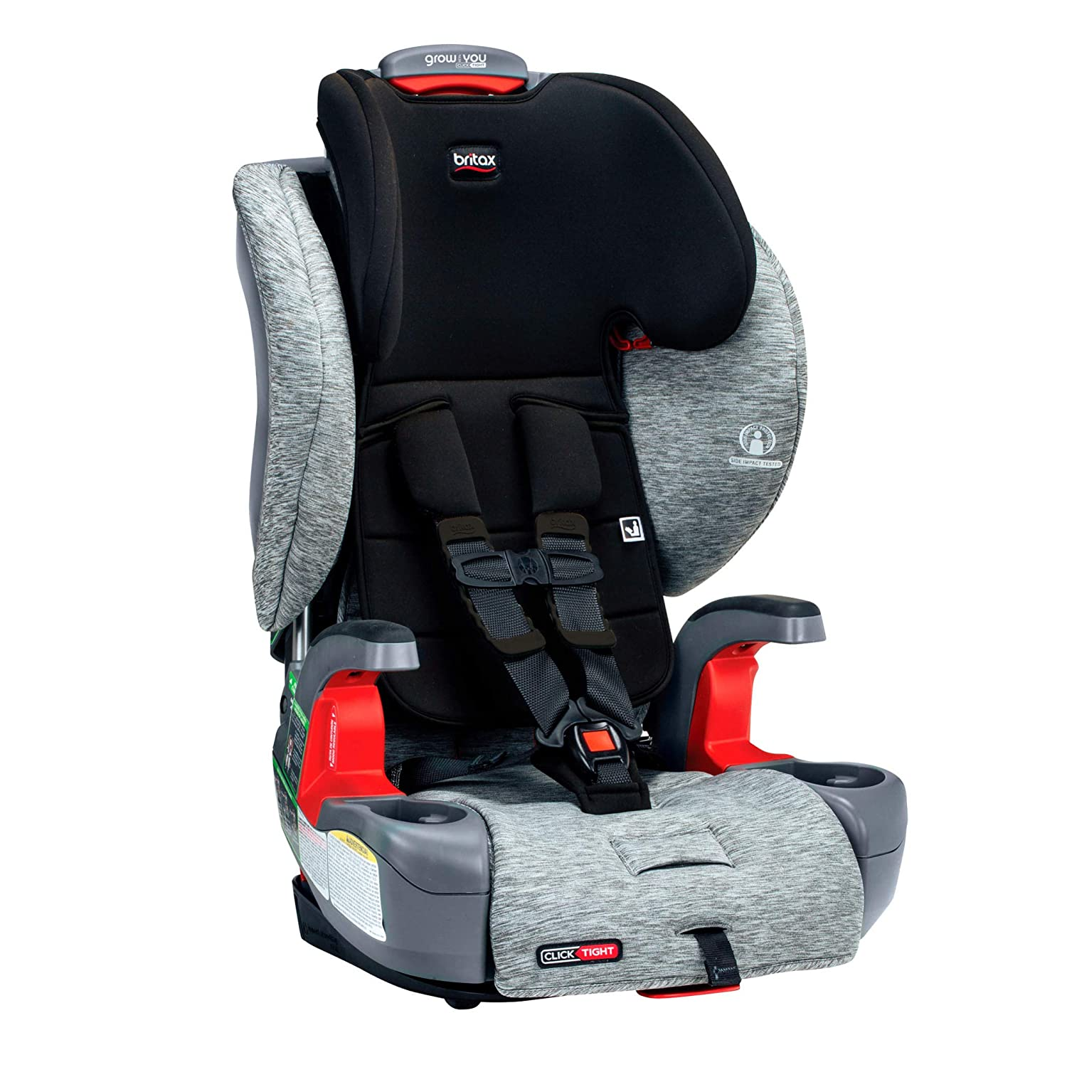 Britax Grow Harness 2 Booster Car Seat Best Booster Seats with 5 Point Harness