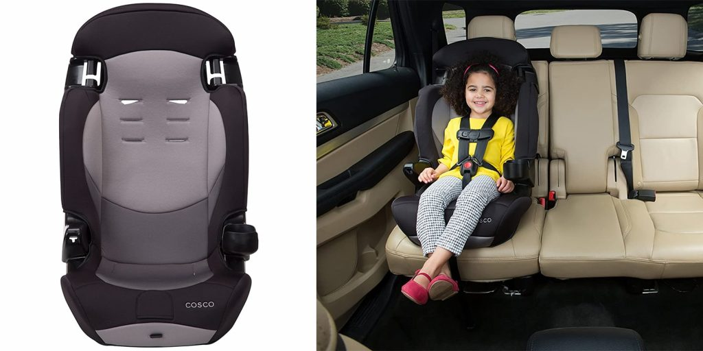 Under Budget Booster seat with 5 Point harness