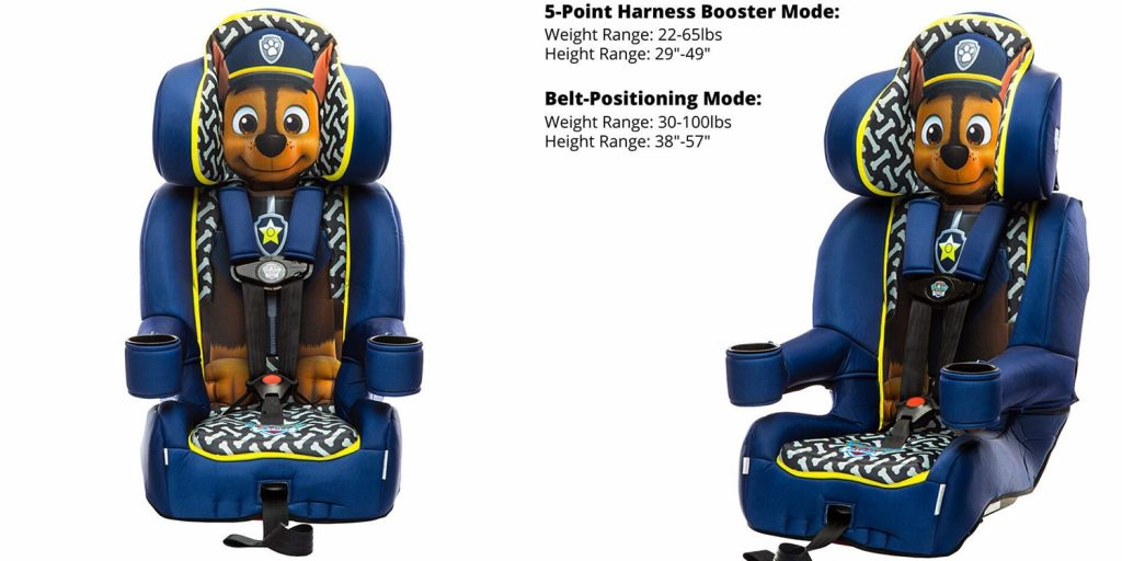 Best Animated Booster Seats with 5 Point Harness